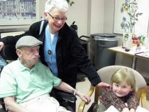 Poppa Sidney, Judy, and Milo (April 2010)
