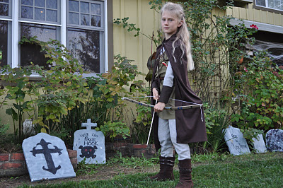 Sam as Legolas